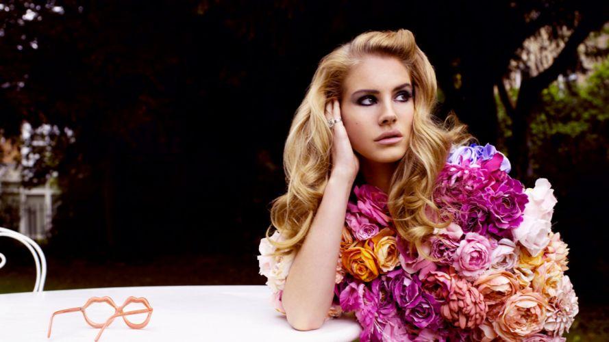 Lana Del Rey singer singers pop redhead redheads women females female girl girls gh wallpaper