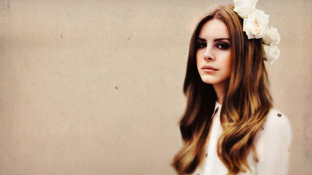 Lana Del Rey singer singers pop redhead redheads women females female girl girls      h wallpaper