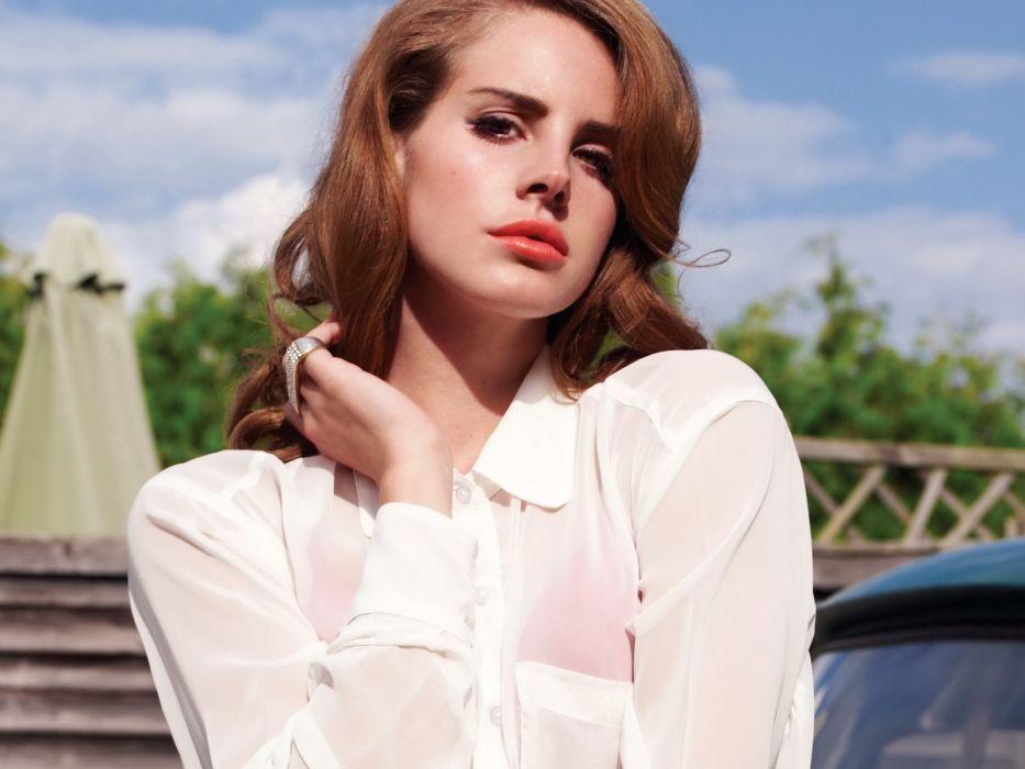 Lana Del Rey singer singers pop redhead redheads women females female girl girls      n wallpaper