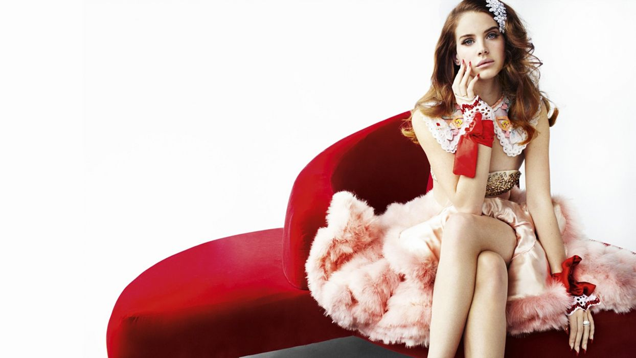 Lana Del Rey singer singers pop redhead redheads women females female girl girls      v wallpaper