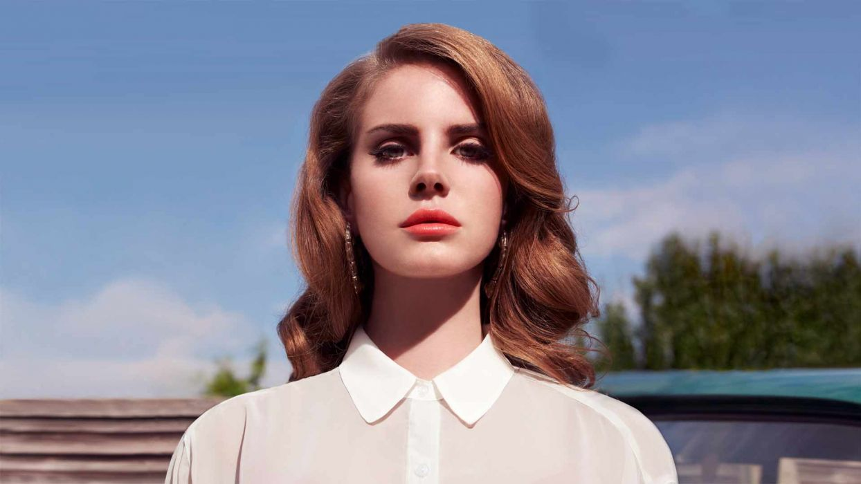 Lana Del Rey singer singers pop redhead redheads women females female girl girls     g wallpaper