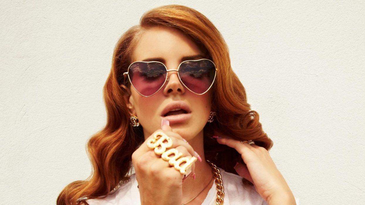 Lana Del Rey singer singers pop redhead redheads women females female girl girls    g wallpaper
