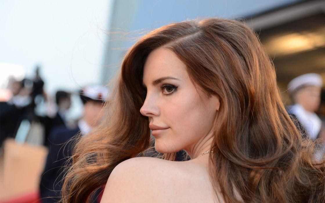 Lana Del Rey singer singers pop redhead redheads women females female girl girls    b wallpaper