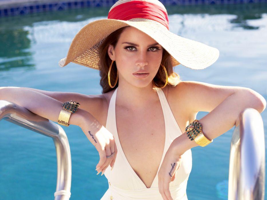 Lana Del Rey singer singers pop redhead redheads women females female girl girls r wallpaper