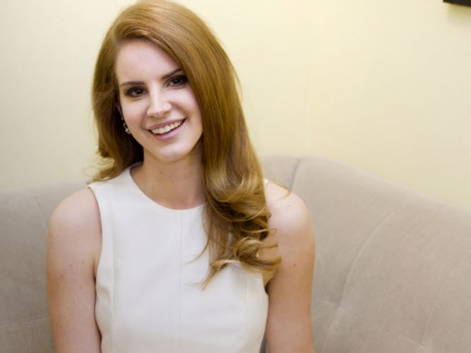 redhead redheads Lana Del Rey singer singers pop women females female girl girls k wallpaper