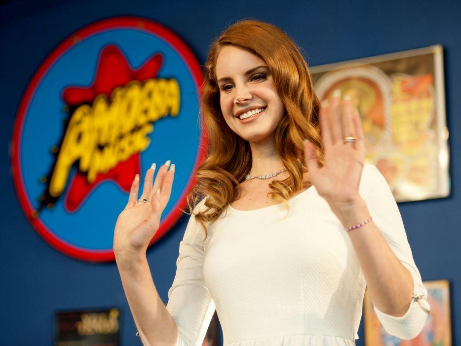 redhead redheads Lana Del Rey singer singers pop women females female girl girls q wallpaper