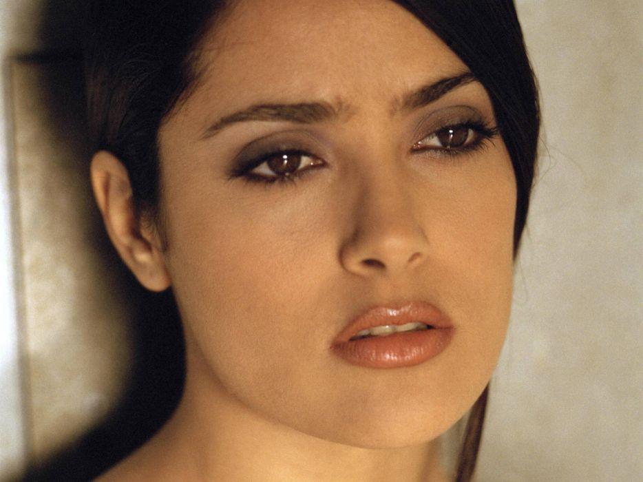 Salma Hayek actress brunette brunettes women woman female females girl girls       g wallpaper