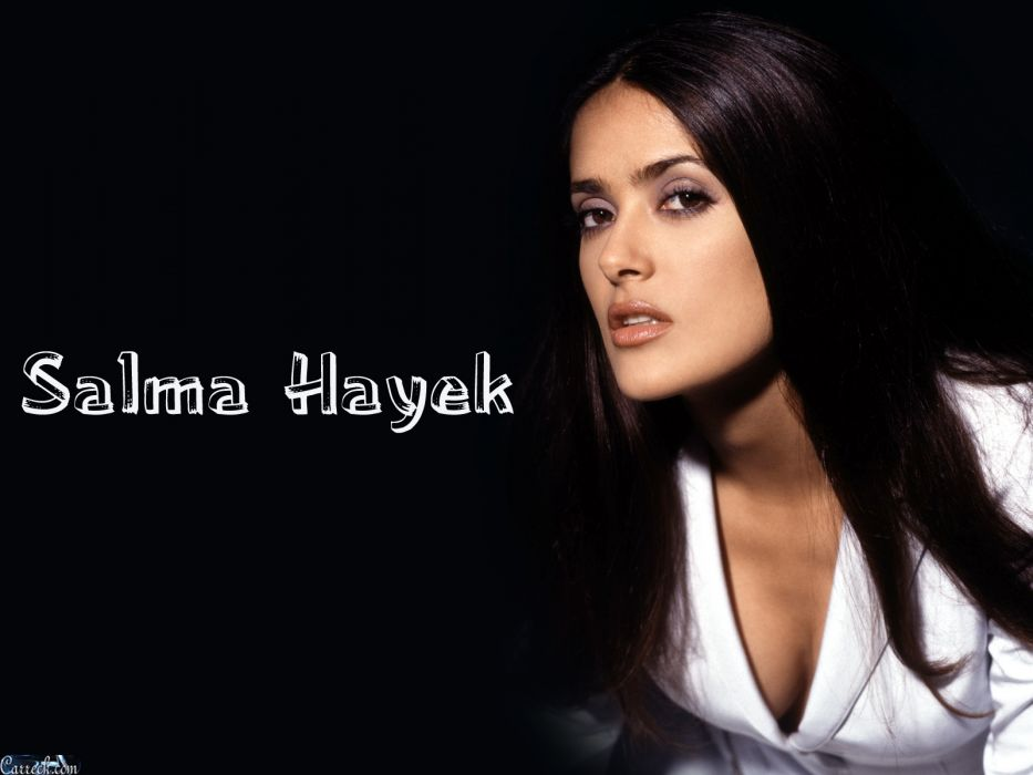 Salma Hayek actress brunette brunettes women woman female females girl girls       n wallpaper