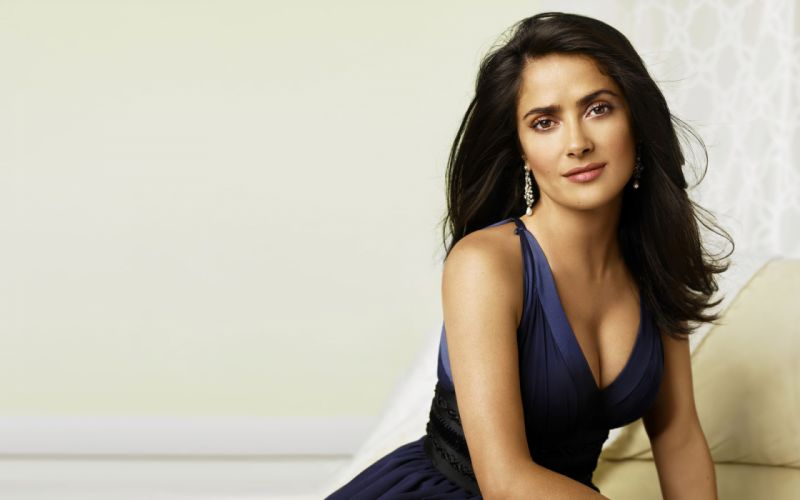 Salma Hayek actress brunette brunettes women woman female females girl girls g wallpaper