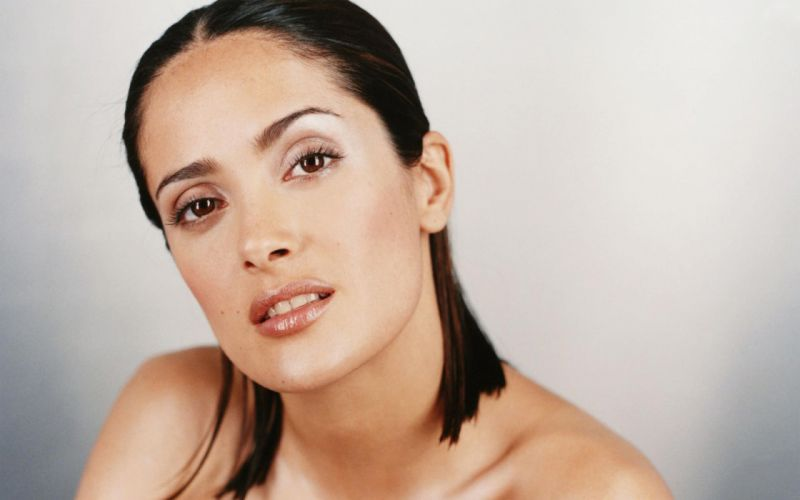 Salma Hayek actress brunette brunettes women woman female females girl girls a wallpaper