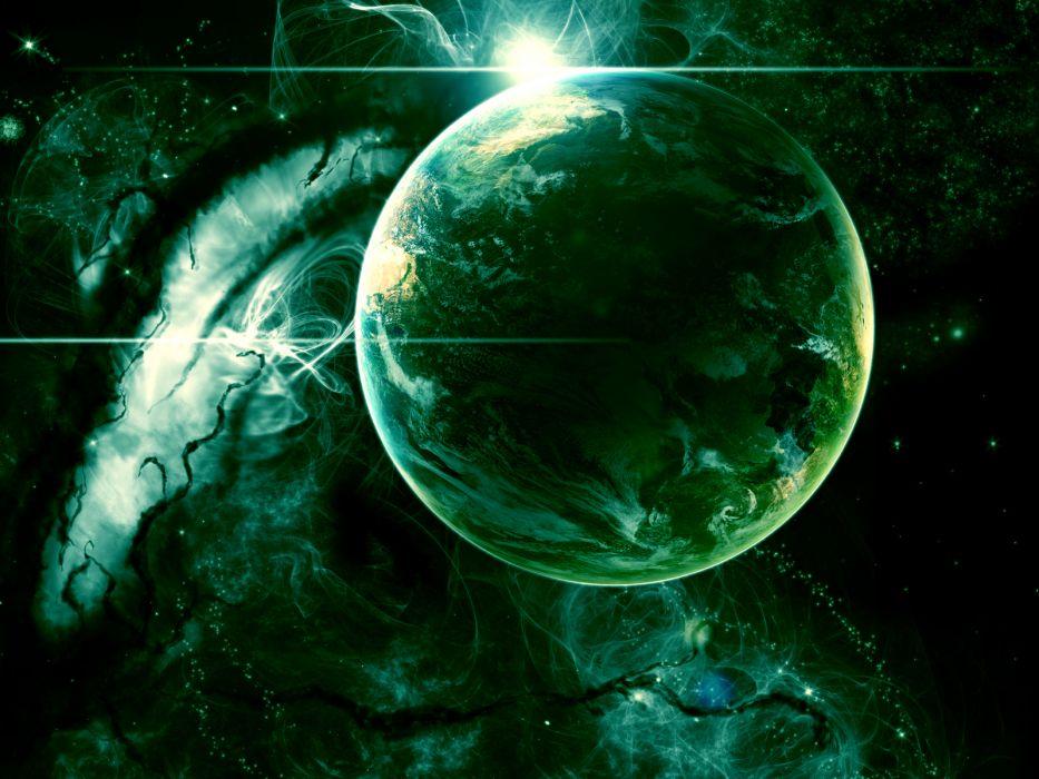 green earth wallpaper