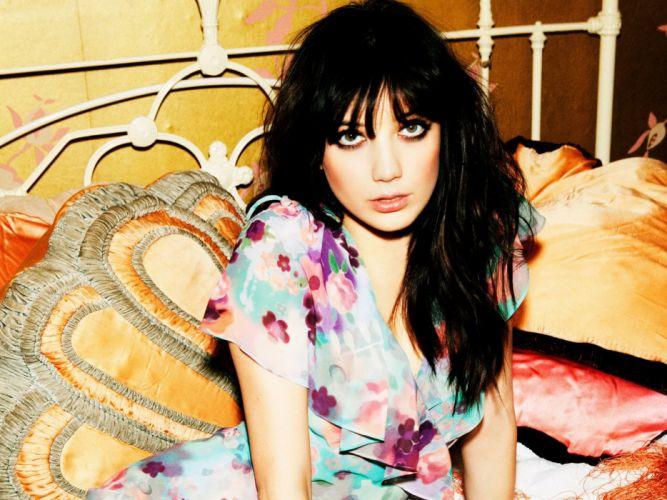 Daisy Lowe model models brunette brunettes women female females g wallpaper