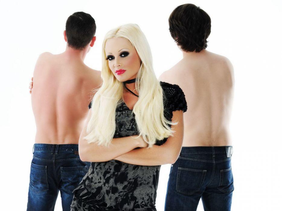 Daniela Katzenberger model models singer music women female females blonde blondes q wallpaper