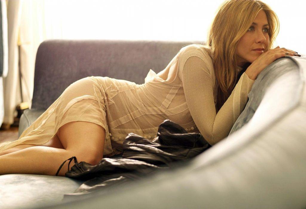Jennifer Aniston actress blonde blondes women female females  da wallpaper