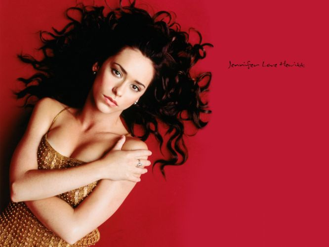 Jennifer Love Hewitt actress brunettes brunette women female females u wallpaper