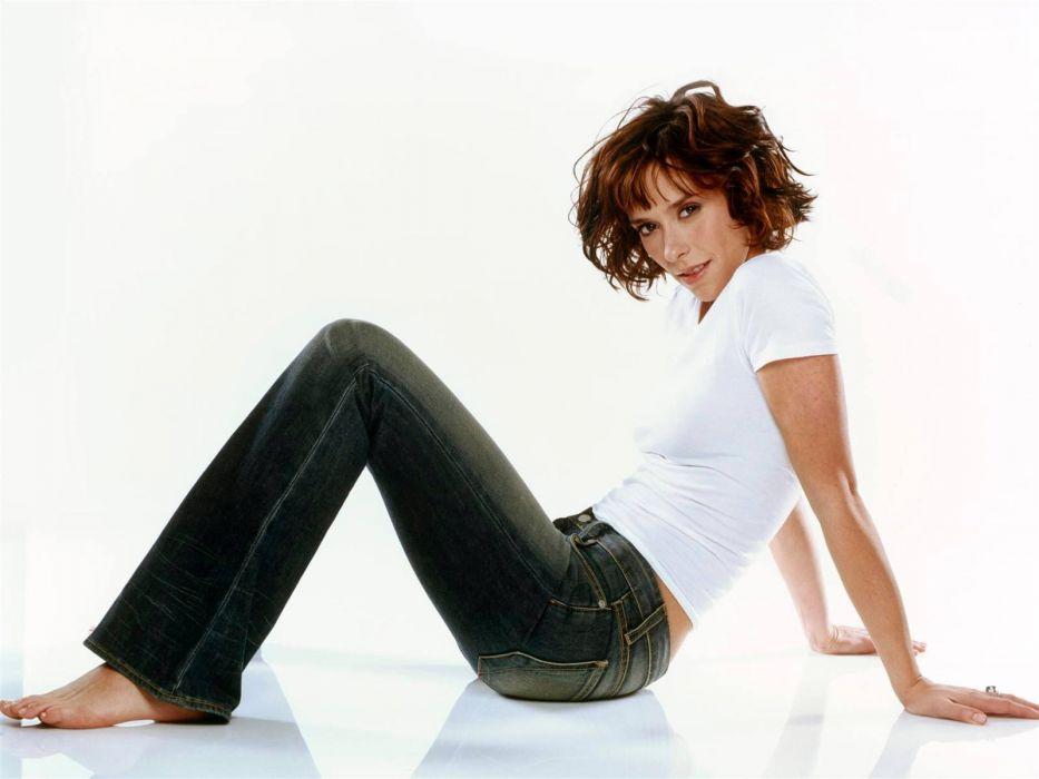 Jennifer Love Hewitt actress brunettes brunette women female females      gd wallpaper