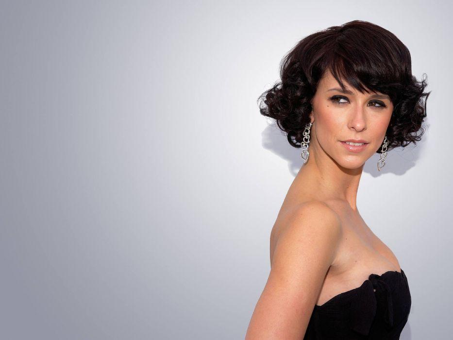 Jennifer Love Hewitt actress brunettes brunette women female females     ge wallpaper