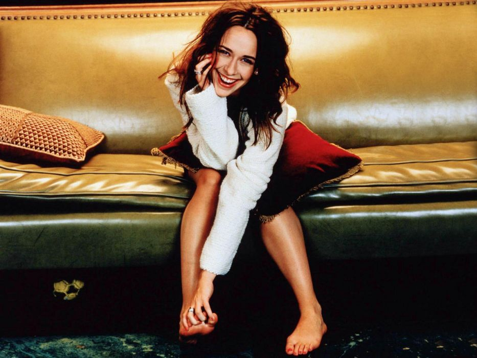 Jennifer Love Hewitt actress brunettes brunette women female females   d wallpaper