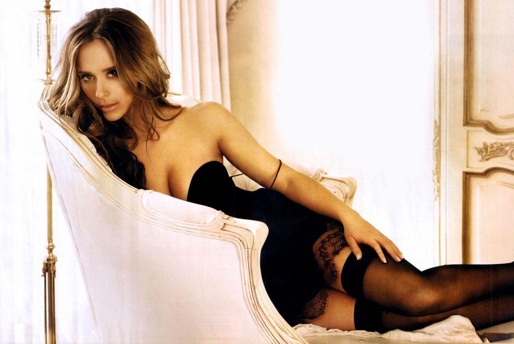Jennifer Love Hewitt actress brunettes brunette women female females    h wallpaper
