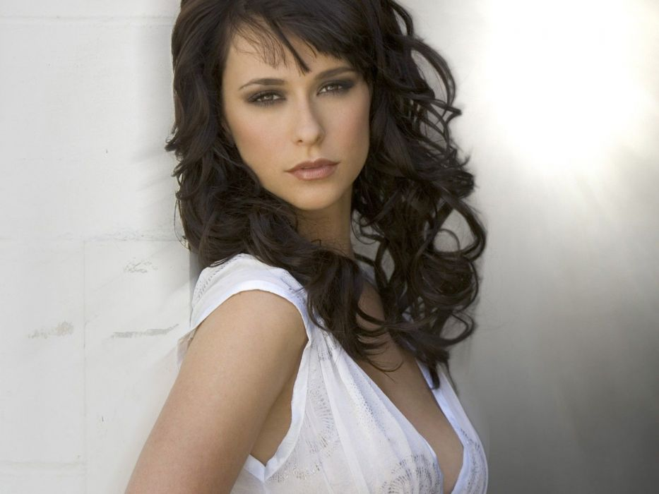 Jennifer Love Hewitt actress brunettes brunette women female females   hh wallpaper