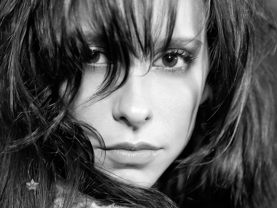 Jennifer Love Hewitt actress brunettes brunette women female females   hf wallpaper