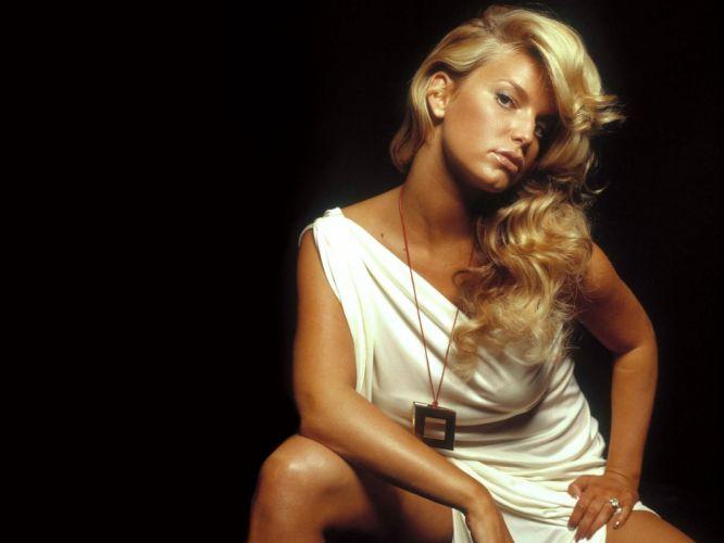 Jessica Simpson singer pop women female females d wallpaper