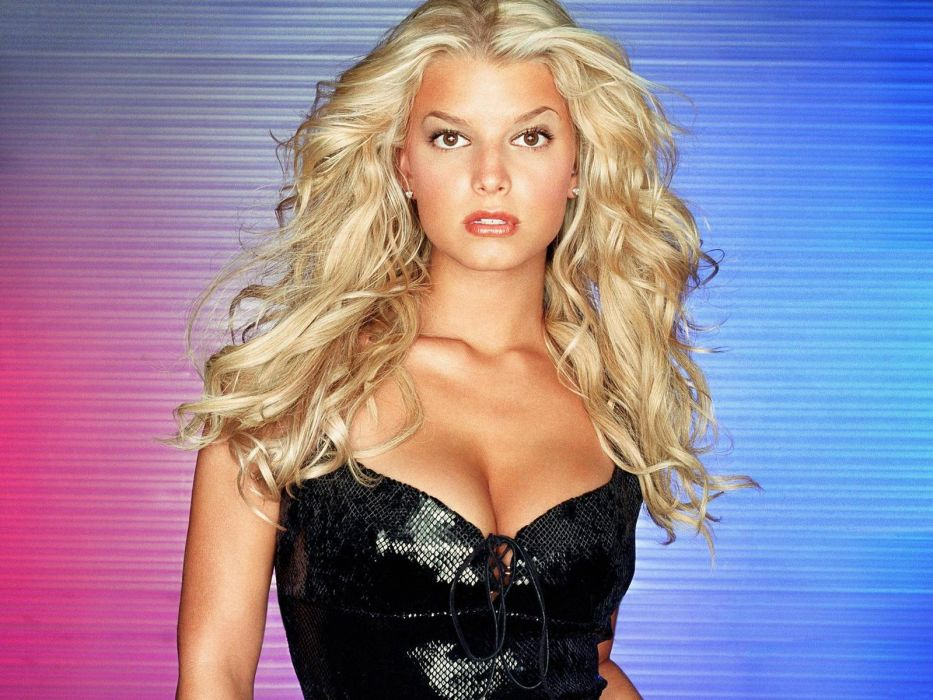 Jessica Simpson singer pop women female females     d wallpaper