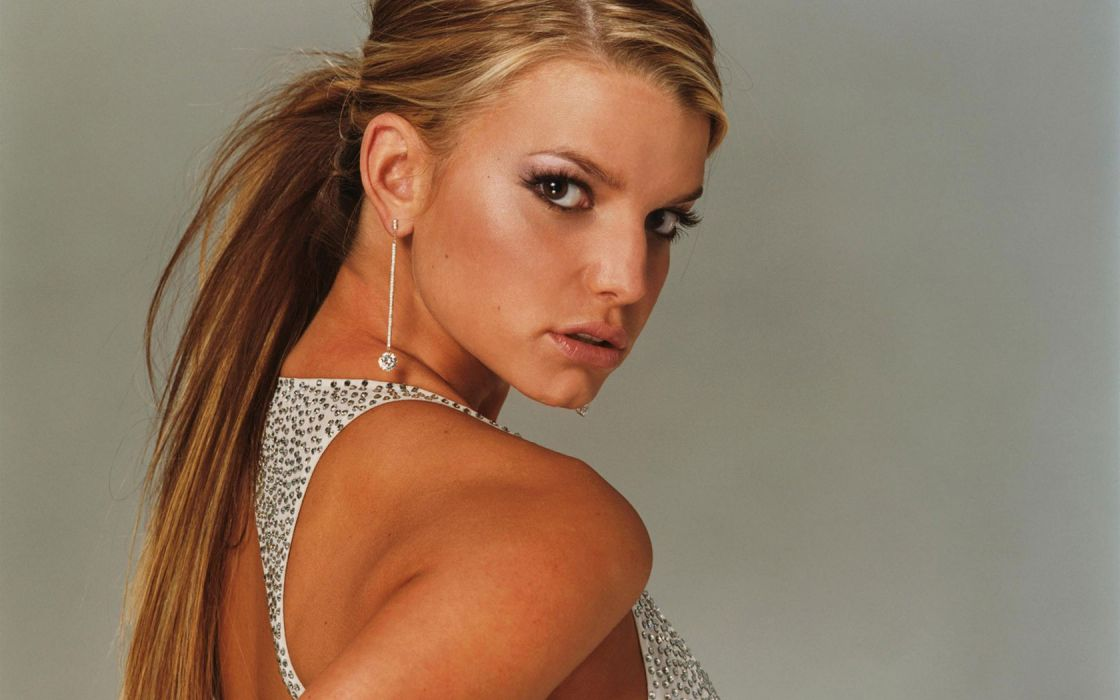 Jessica Simpson singer pop women female females     x wallpaper