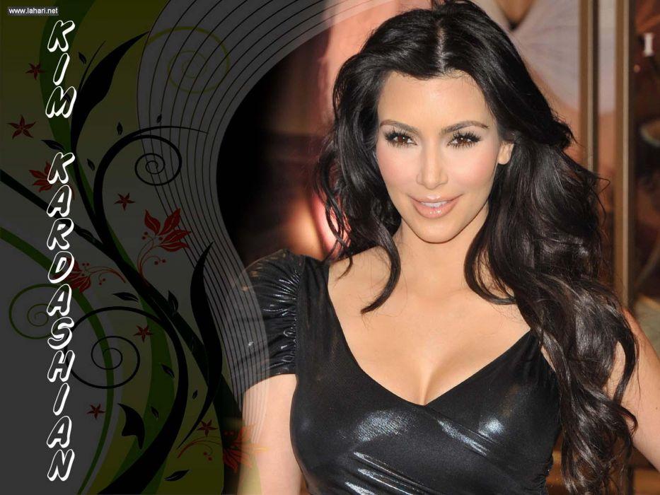 Kim Kardashian women female females          o wallpaper