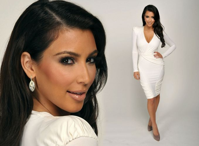 Kim Kardashian women female females j wallpaper