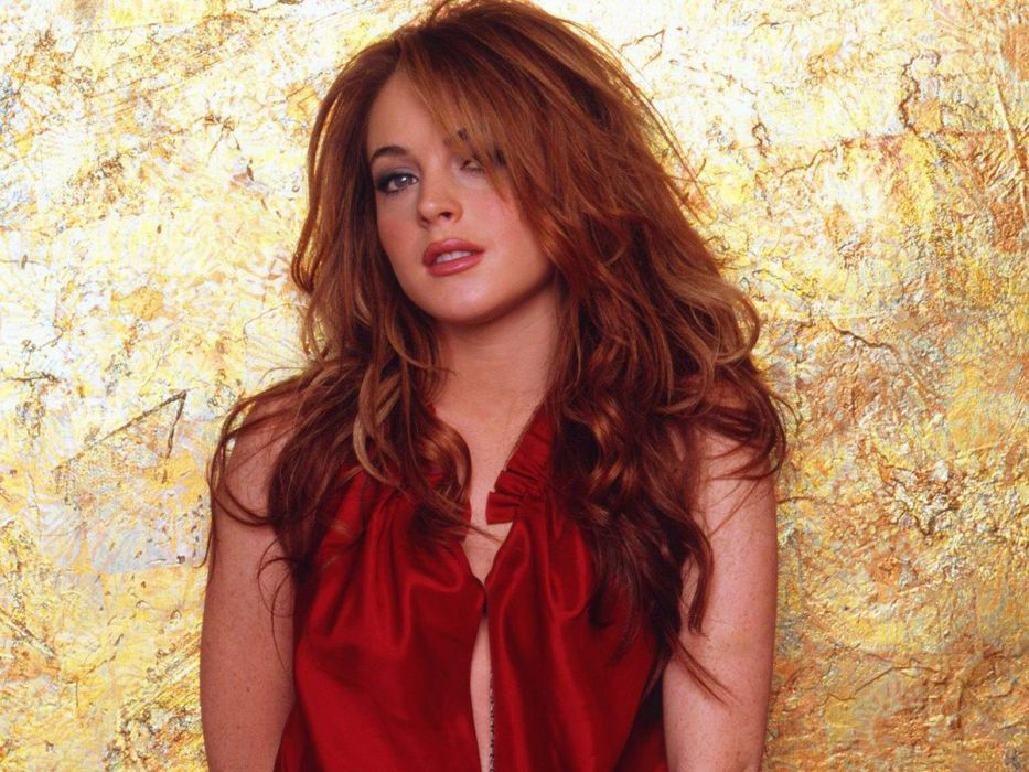 Lindsay Lohan actress women woman females female           f wallpaper
