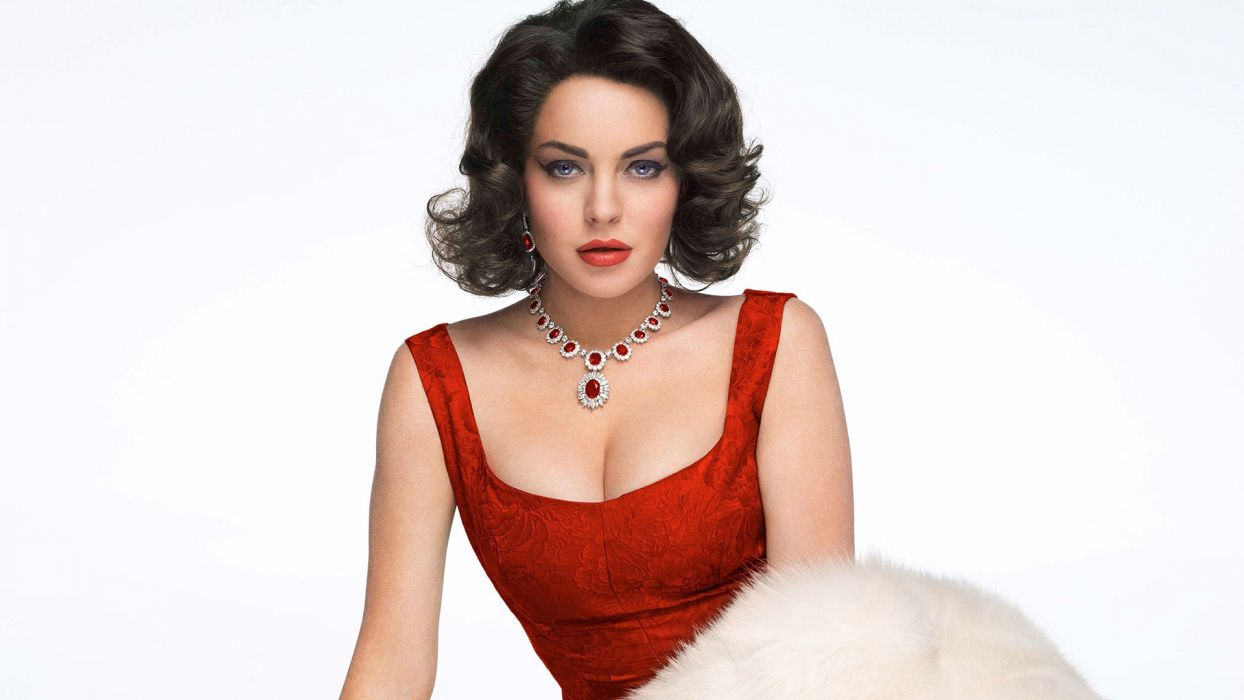 Lindsay Lohan actress women woman females female   x wallpaper