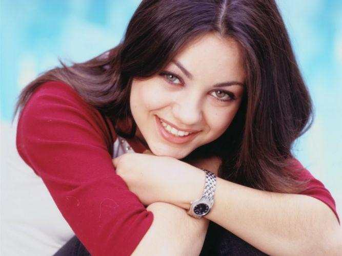 Mila Kunis actress brunette brunettes women female females h wallpaper