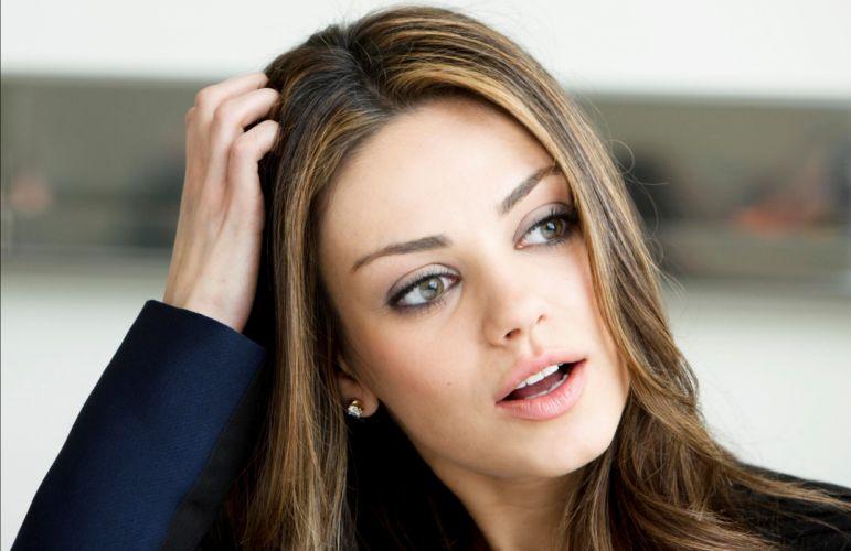 Mila Kunis actress brunette brunettes women female females k wallpaper