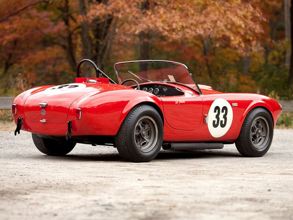 1963 Shelby A-C Cobra 260 Factory Competition race racing supercars supercar   f wallpaper