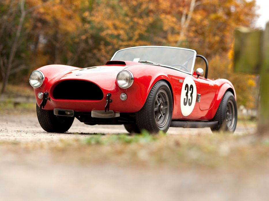 1963 Shelby A-C Cobra 260 Factory Competition race racing supercars supercar wallpaper