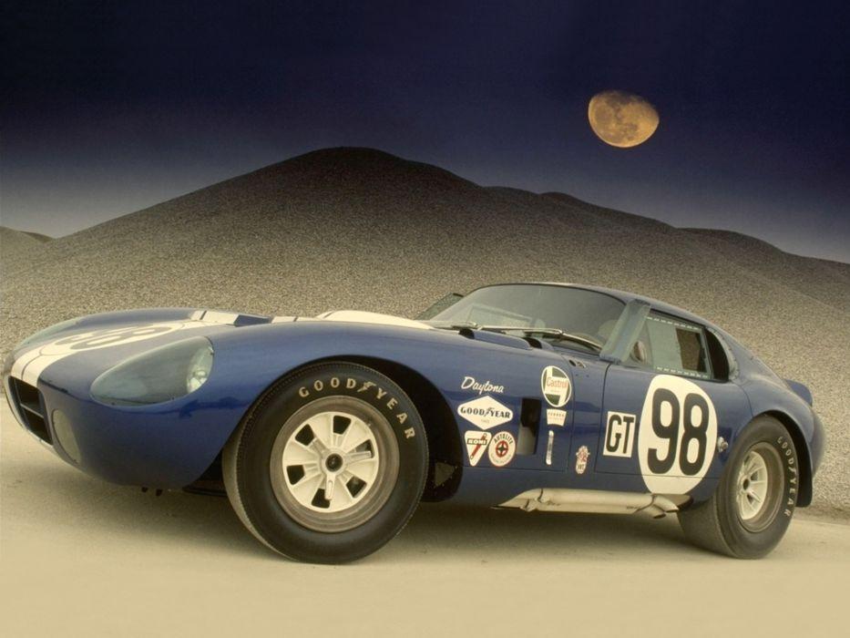 1964 Shelby A-C Cobra Daytona Coupe supercars supercar race racing t wallpaper