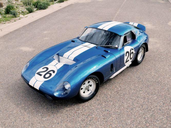 1964 Shelby A-C Cobra Daytona Coupe supercars supercar race racing wallpaper