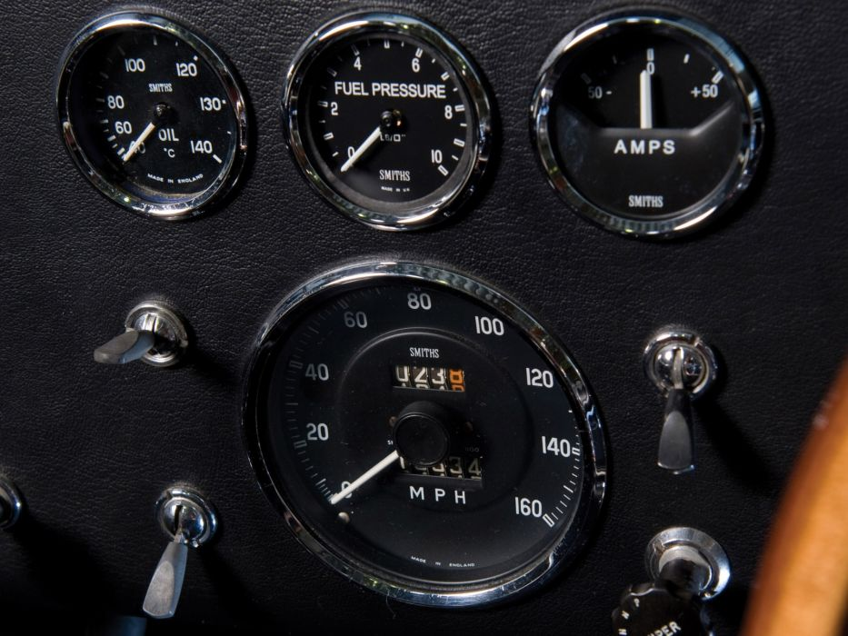 1965 Shelby A-C Cobra 427 S-C Competition supercars supercar muscle hot rod rods interior wallpaper