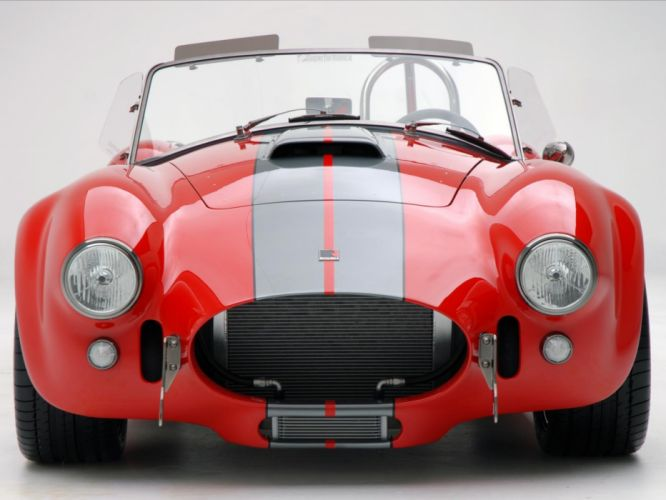 2008 AC Roush MKIIIR Shelby Cobra supercars supercar muscle hot rod rods d wallpaper