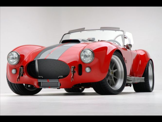 2008 AC Roush MKIIIR Shelby Cobra supercars supercar muscle hot rod rods e wallpaper