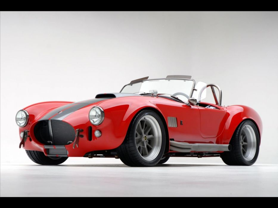 2008 AC Roush MKIIIR Shelby Cobra supercars supercar muscle hot rod rods q wallpaper