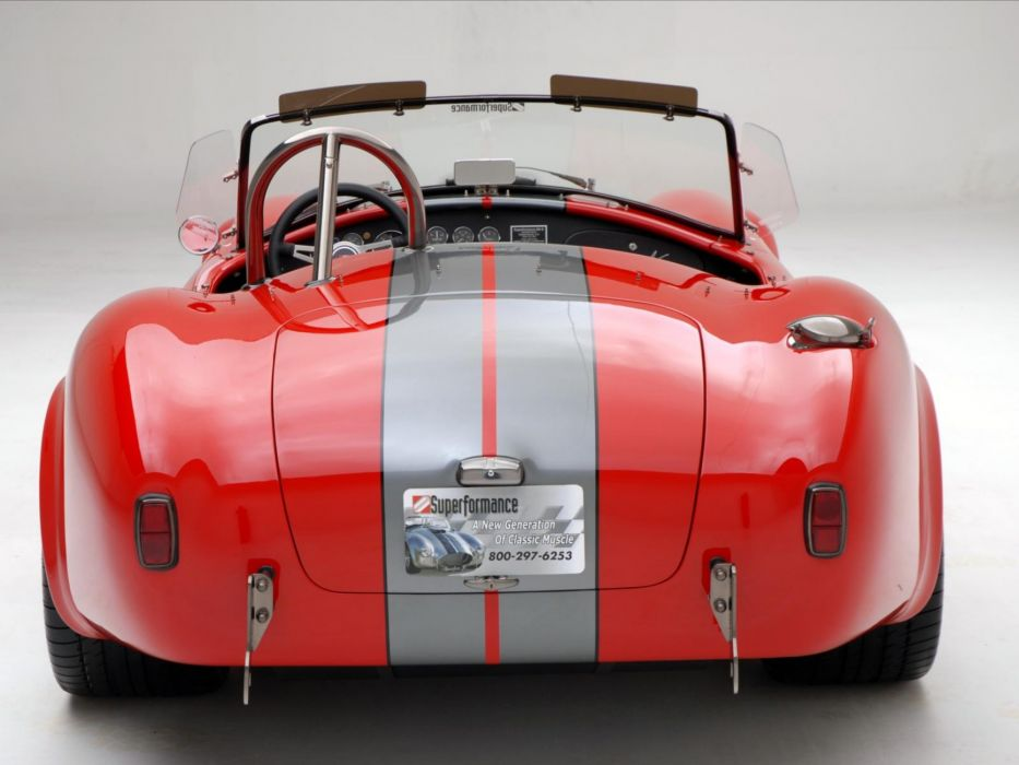 2008 AC Roush MKIIIR Shelby Cobra supercars supercar muscle hot rod rods s wallpaper