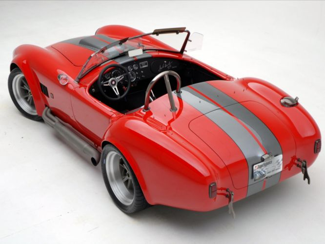 2008 AC Roush MKIIIR Shelby Cobra supercars supercar muscle hot rod rods w wallpaper