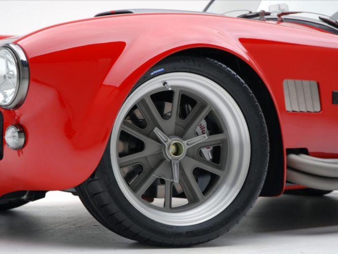 2008 AC Roush MKIIIR Shelby Cobra supercars supercar muscle hot rod rods wheel wheels wallpaper