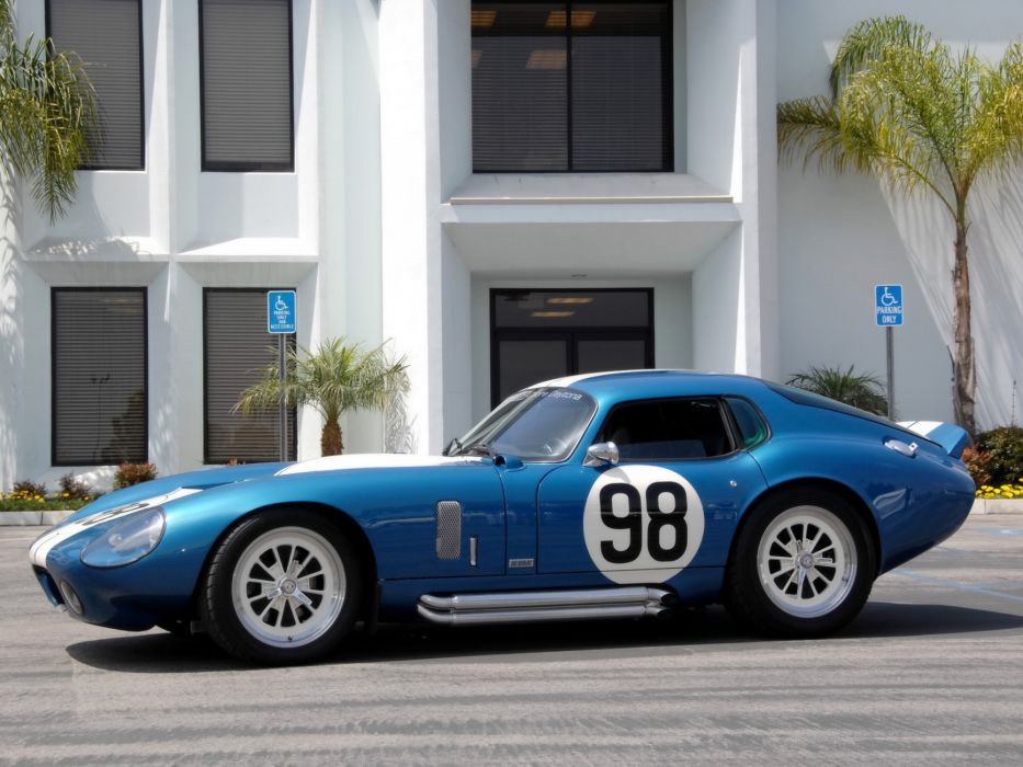 2008 A-C Shelby Cobra Daytona Coupe supercar supercars muscle hot rod rods b wallpaper