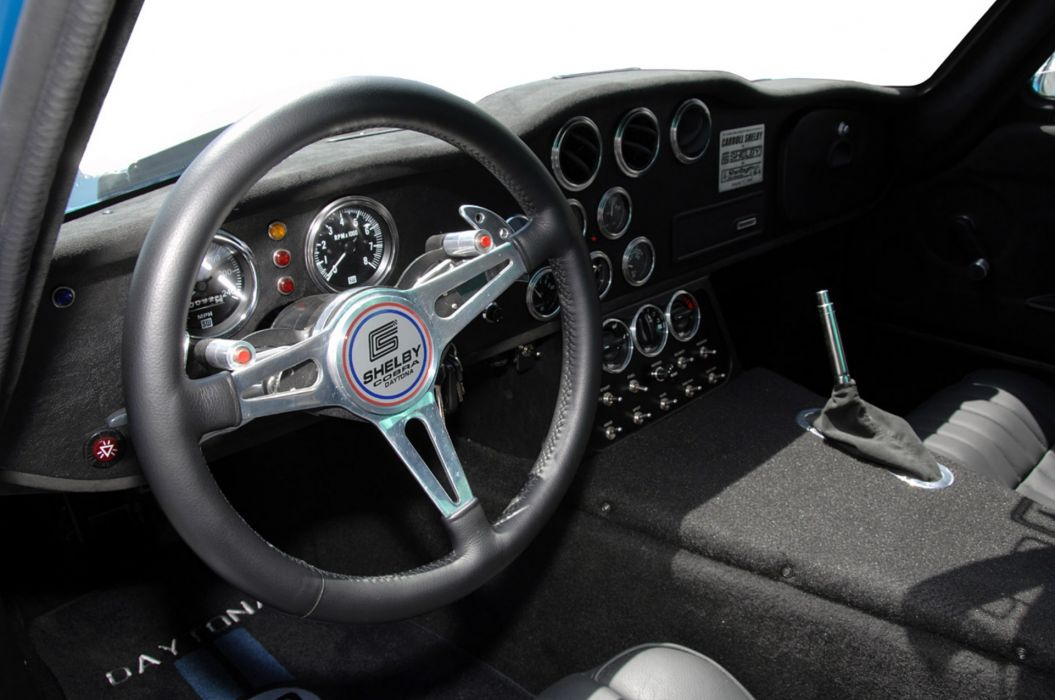 2008 A-C Shelby Cobra Daytona Coupe supercar supercars muscle hot rod rods interior wallpaper