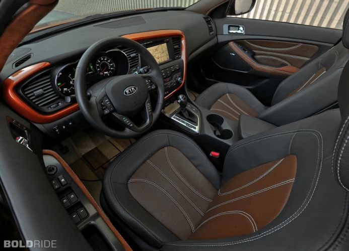 2012 Kia Optima Hybrid tuning interior wallpaper