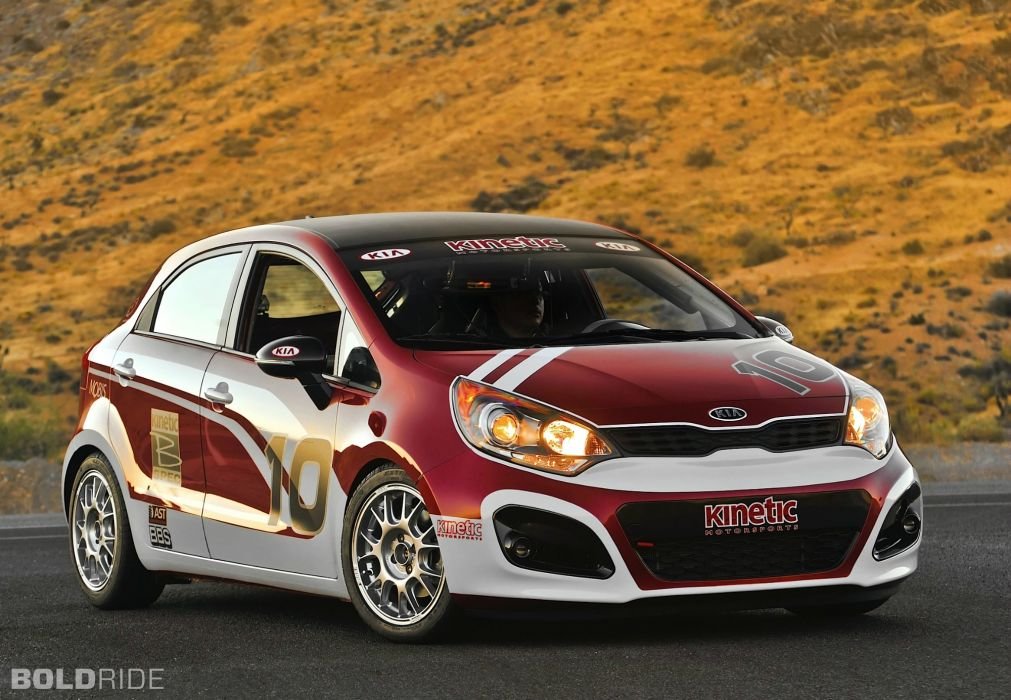 2012 Kia Rio 5-Door B-Spec Racer race racing   g wallpaper