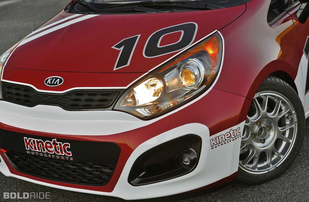 2012 Kia Rio 5-Door B-Spec Racer race racing wheel wheels wallpaper